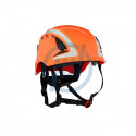 3M Schutzhelm SecureFit, reflektierend, orange