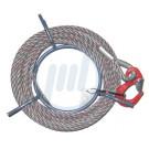4-litziges Seilzugseil, 8,4 mm Seil-Ø, 20 m lang