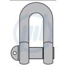 Schäkel ähnlich DIN 82101, verz., Form A, 0,25 t