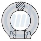 NIRO-Ringmutter M 8     # 308111008