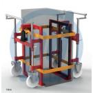 Hydraulisches Hebegerät Twinlifter TW28, PA-Rollen