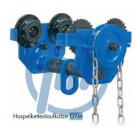 Haspelkettenlaufkatze GTM 1000 kg, FB: 64 - 203 mm