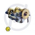 Haspelkettenlaufkatze HD3N-G, 3,2t, EX, 90-143mm