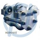 Handlaufkatze HD3N, 500 kg, verzinkt, 55 - 102 mm