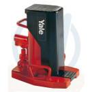 YALE-hydr. Maschinenheber mit Hubklaue, 15 t