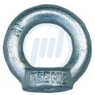 Ringmutter DIN 582, verzinkt, Gr. M 14